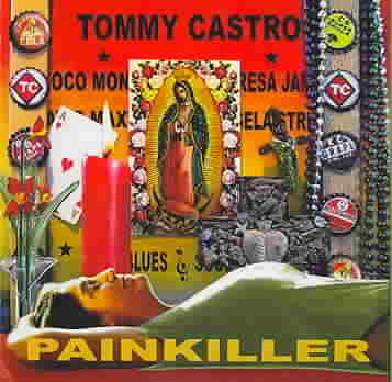 PAINKILLER BY CASTRO,TOMMY (CD)